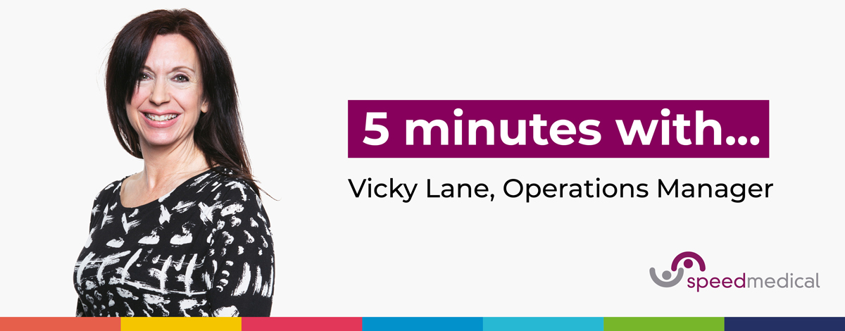 5 minutes with... Vicky Lane, Operations Manager