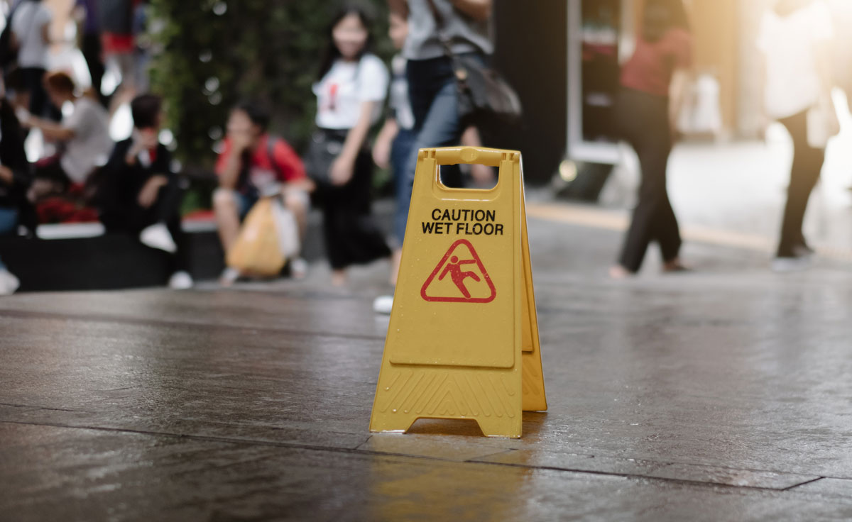 Slips, trips and falls - the ins and outs of Public Liability claims