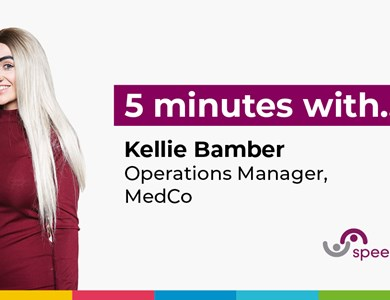 5 minutes with...Kellie Bamber